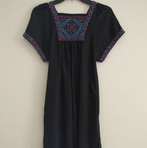 Madewell Embroidered Dress XXS
